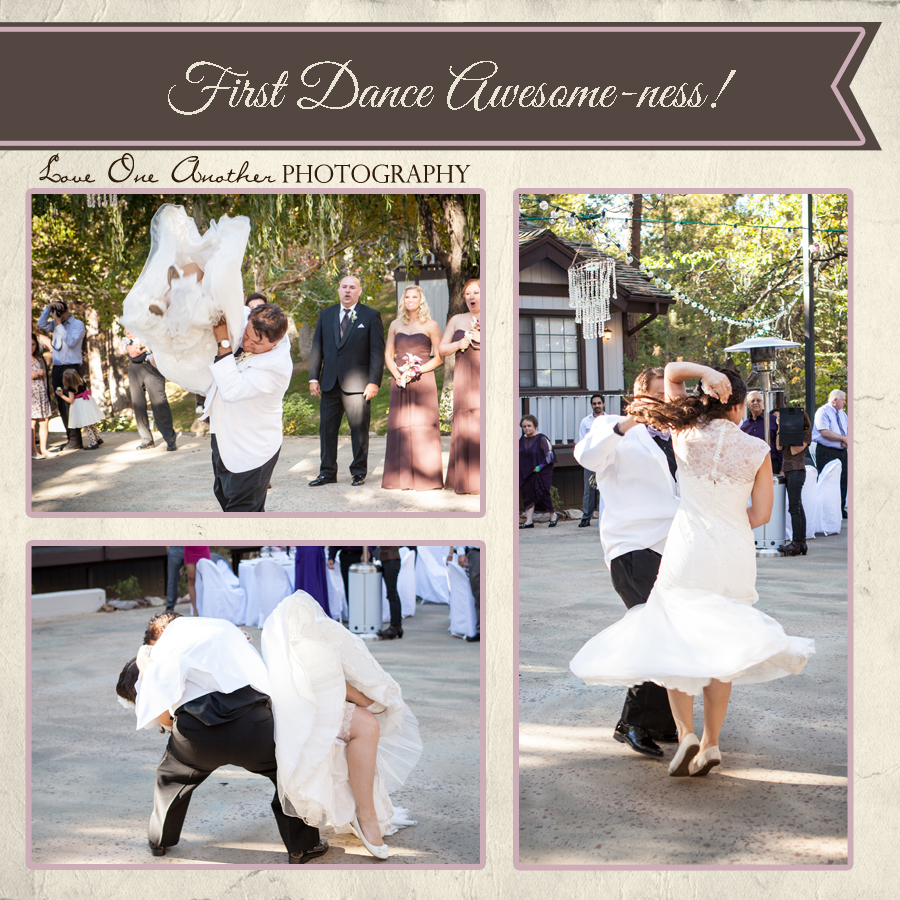 first dance is awesome