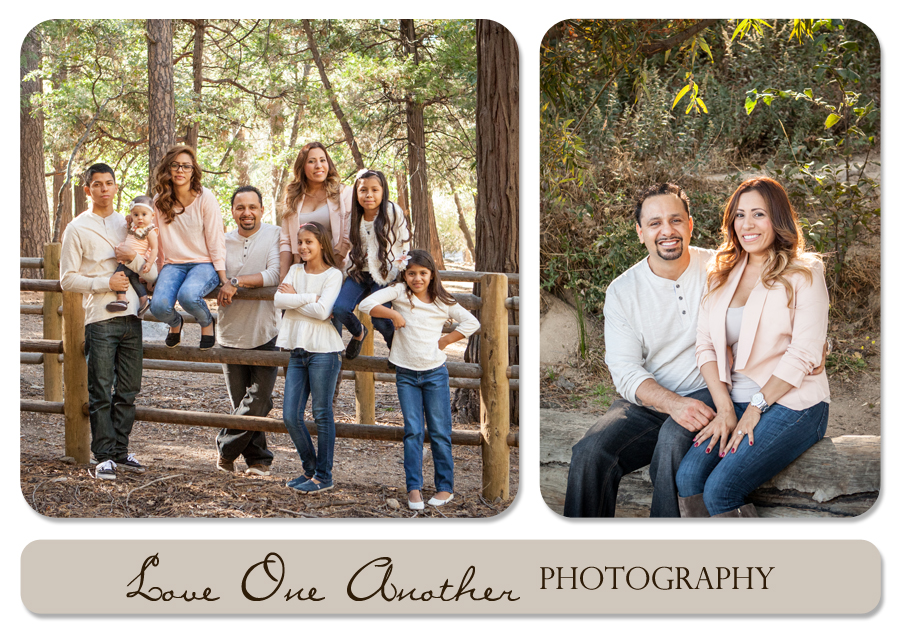 family session in the mountains
