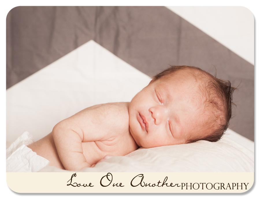 sleeping newborn pictures