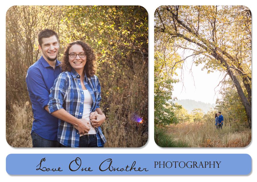 sweet couple engagement