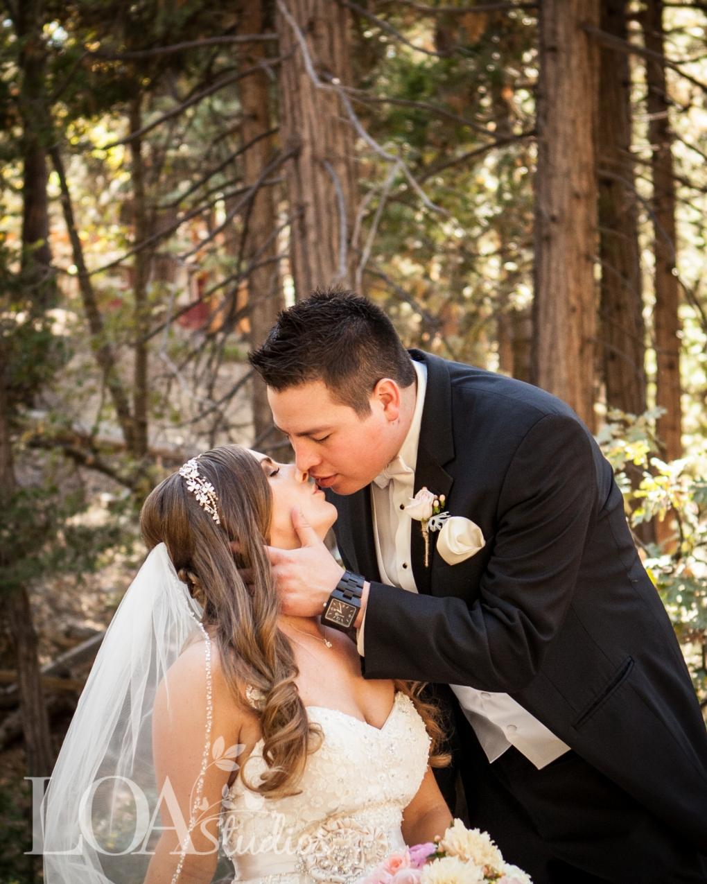 Mountain weddings pine rose cabins