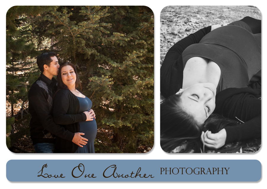 mountain maternity pictures