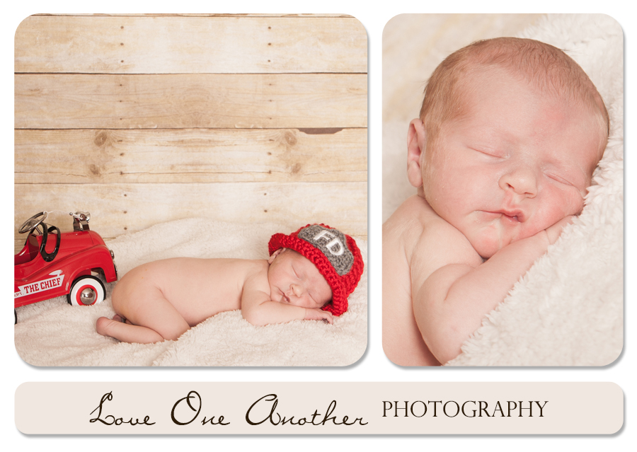 firefighter newborn pictures