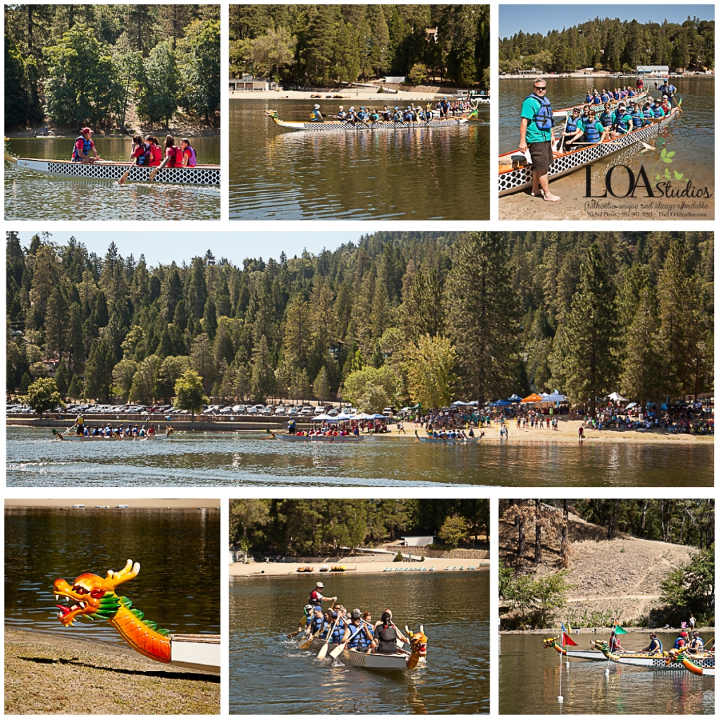 boat races at Lake Gregory