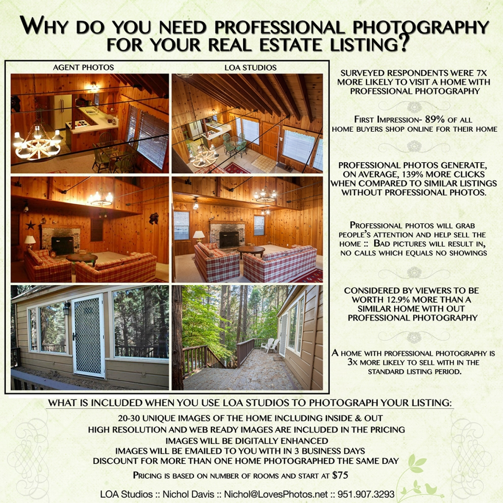 pictures of homes from a professional photographer