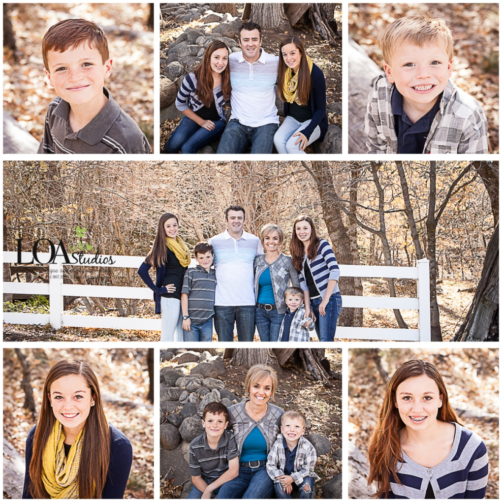 fall mountain pictures family
