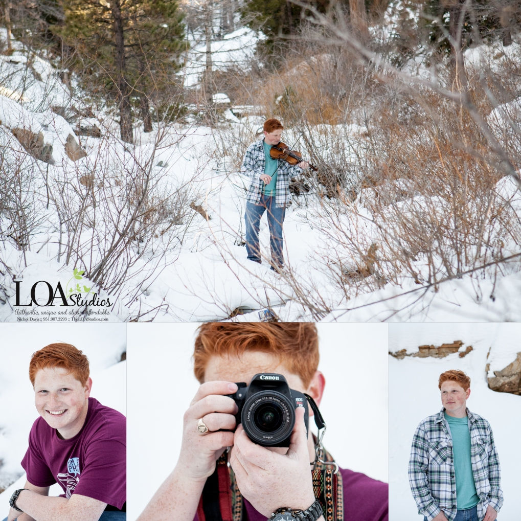 snow mountain pictures senior pictures