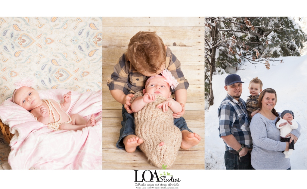 sweet family of four