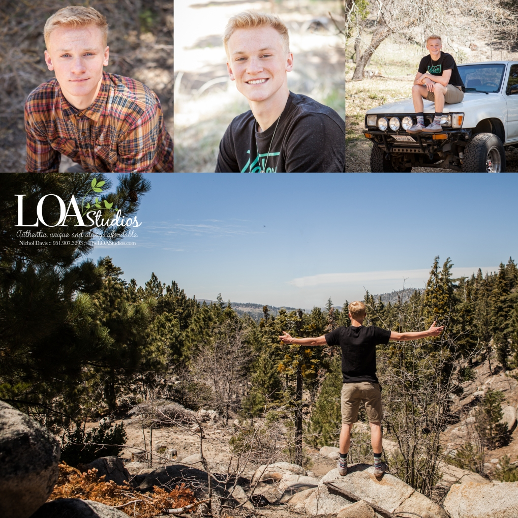 running springs family children mountain photographer