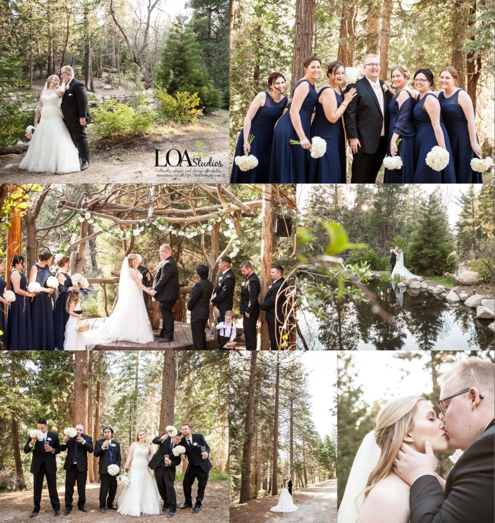 Pine rose cabins wedding photographer