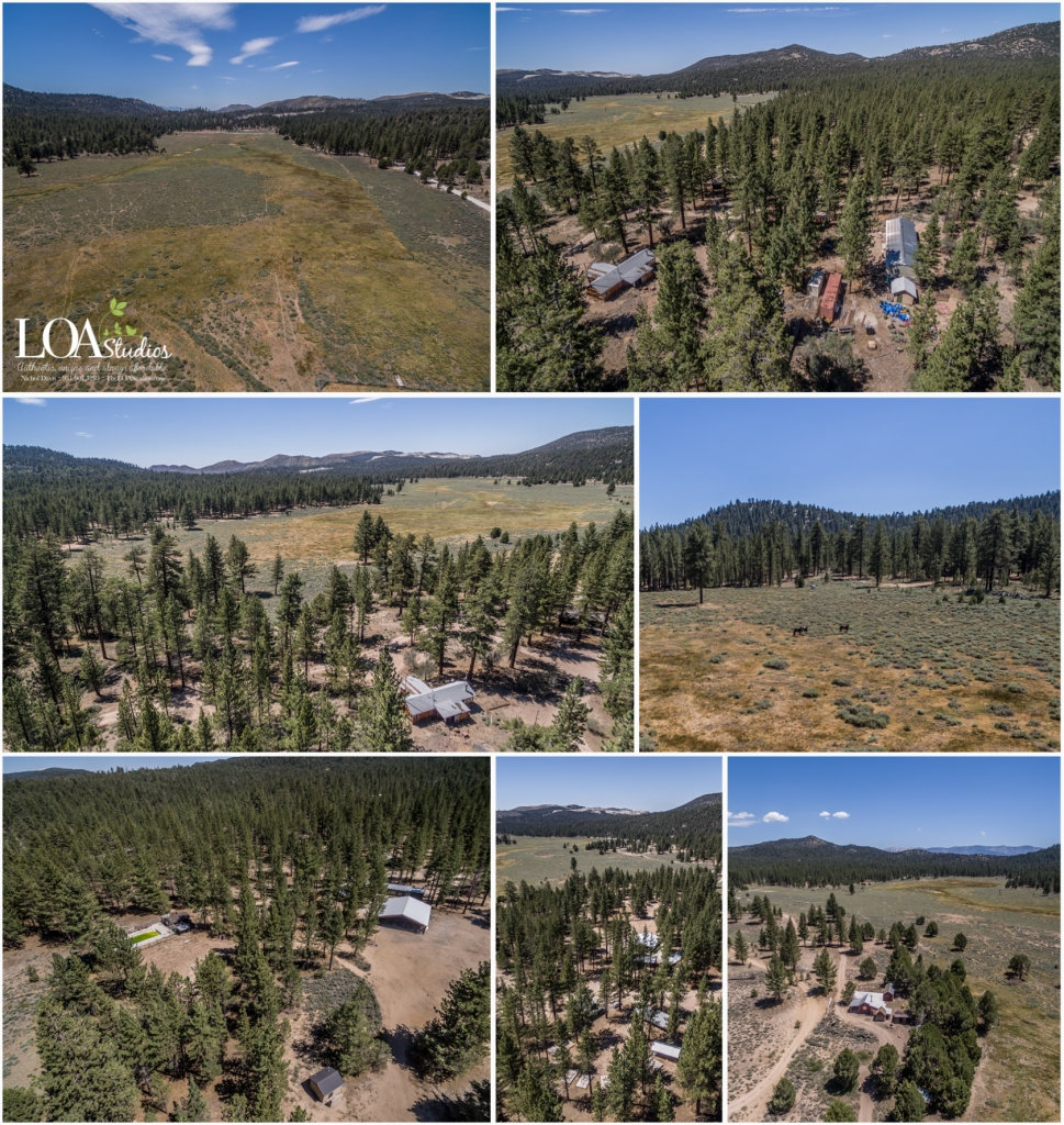 aerial photography big bear