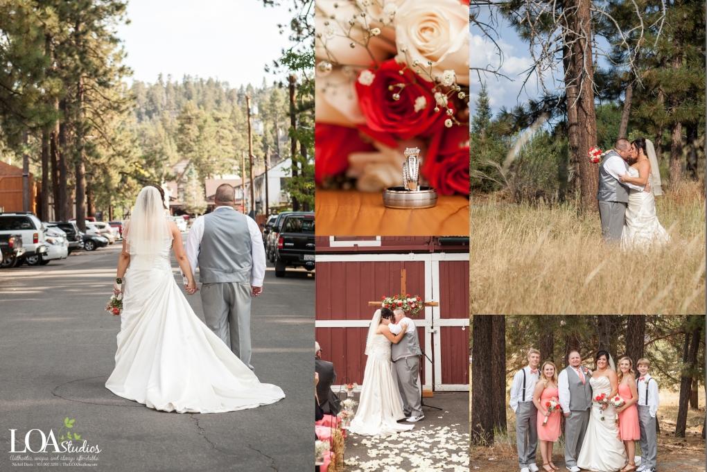 lily bear lodging big bear wedding photographer