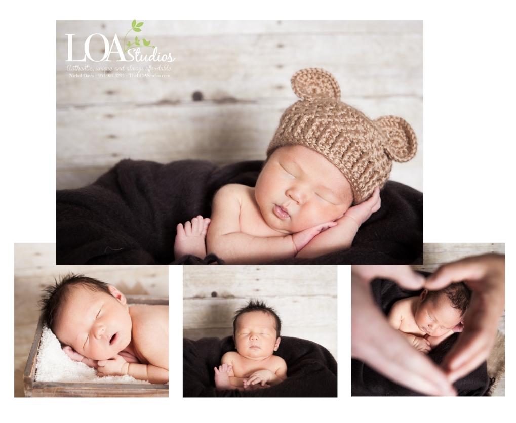 running springs newborn photographer