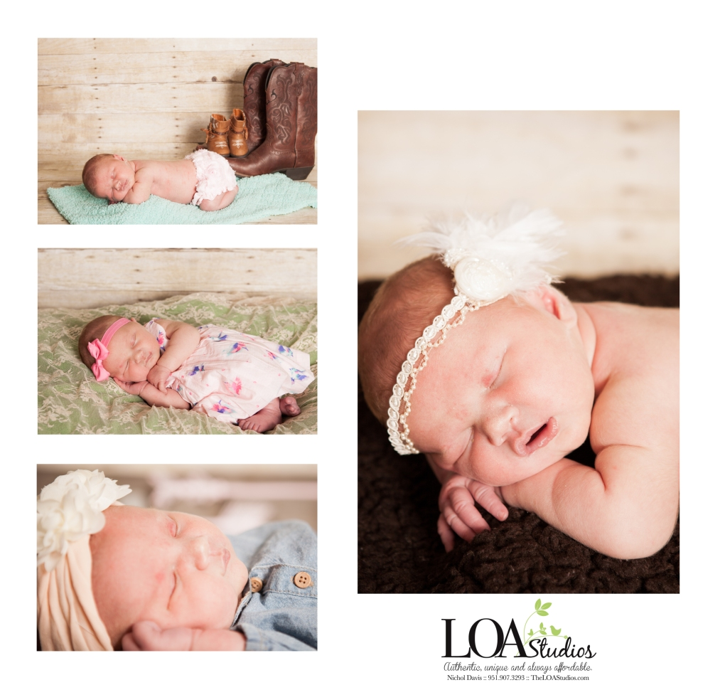 newborn photography in the mountains