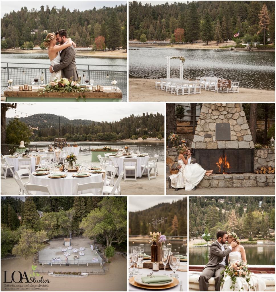 lake gregory wedding photographer