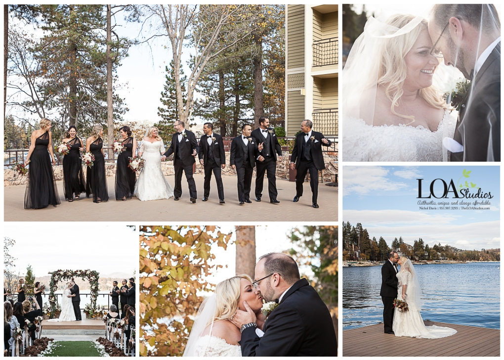 wedding photographer in lake arrowhead