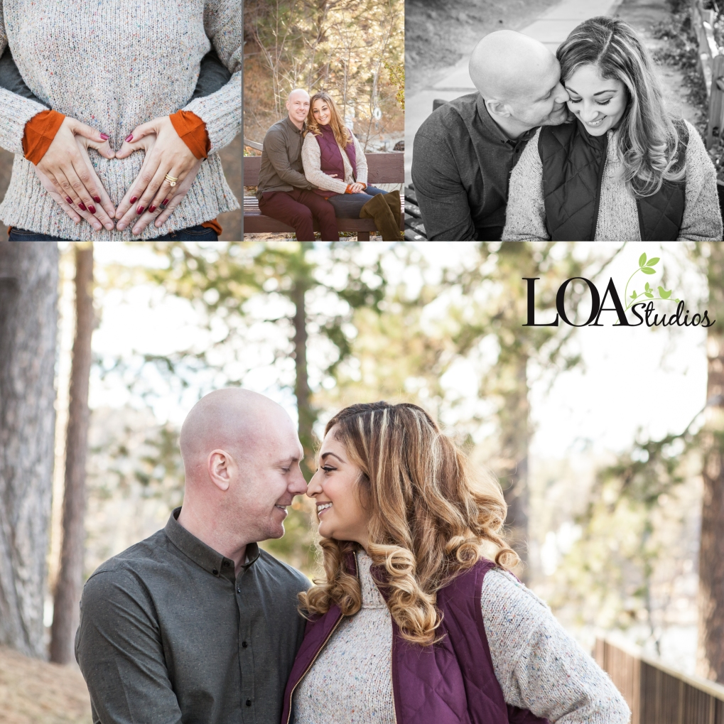 maternity pictures in lake arrowhead