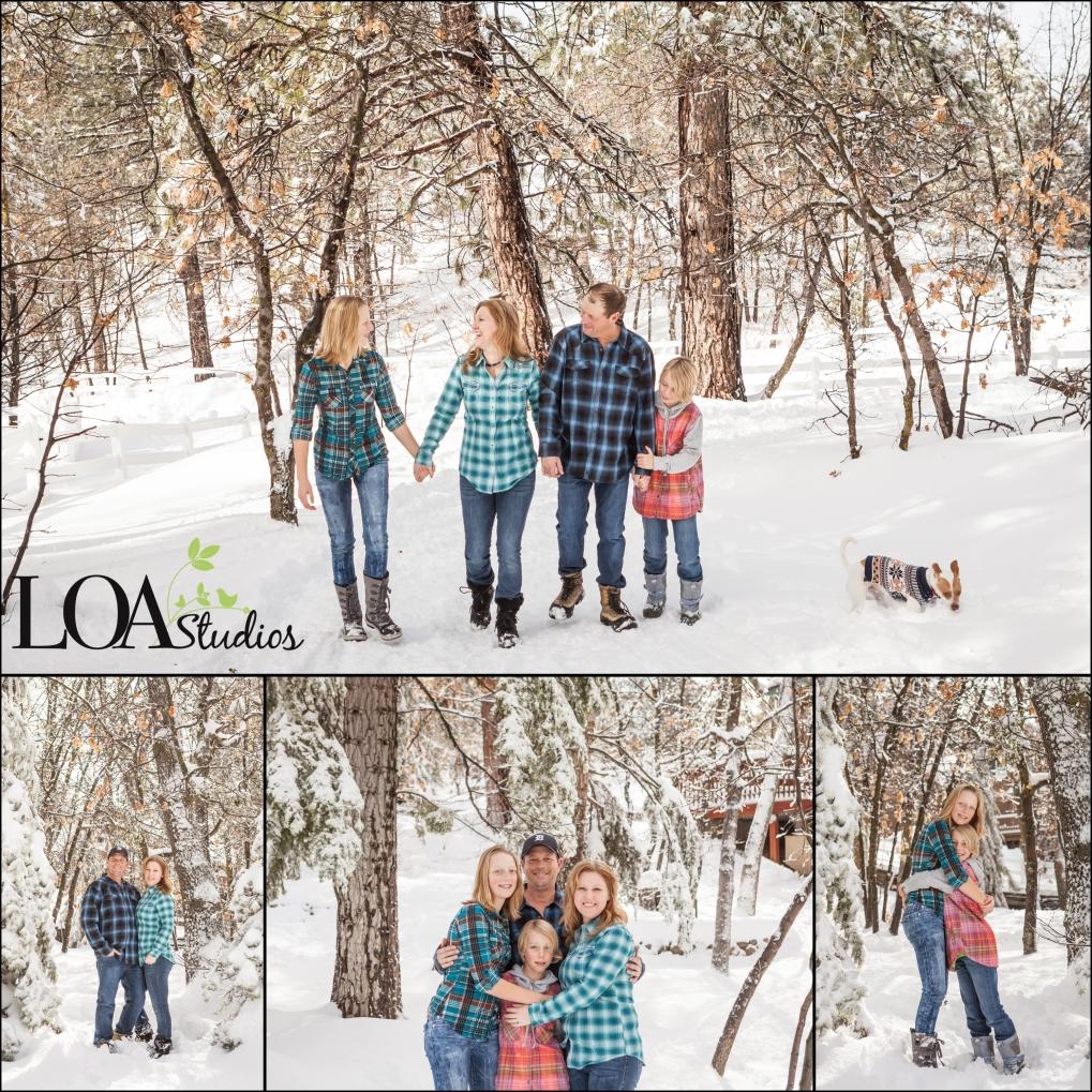 family photographer in Big Bear