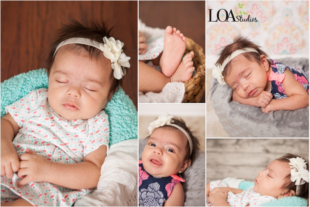 little girl newborn photographer
