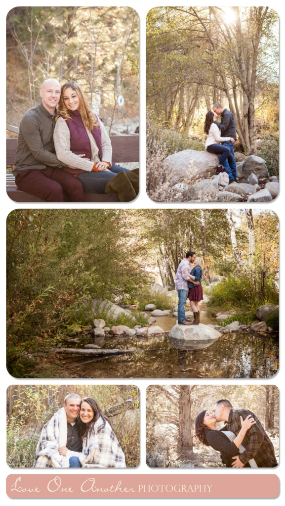 big bear engagement photographer