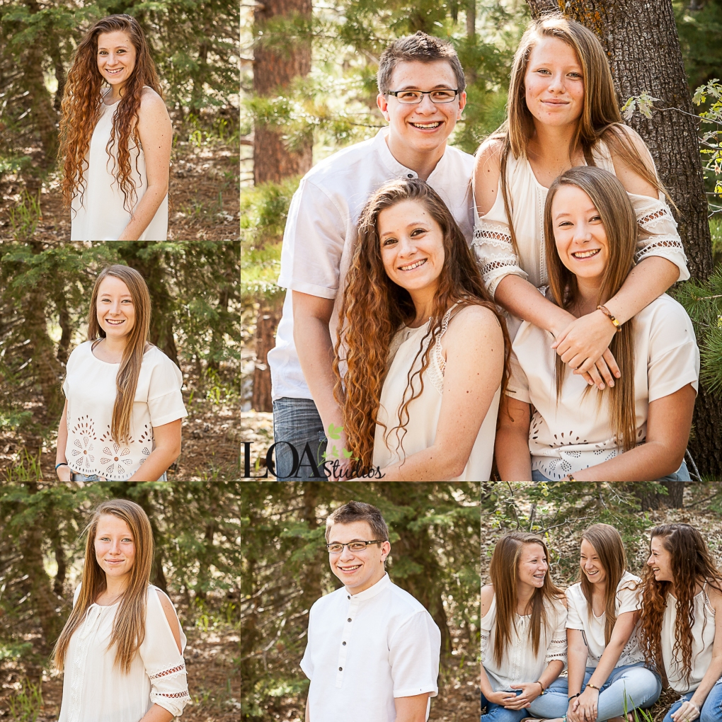 outdoor family pictures running springs