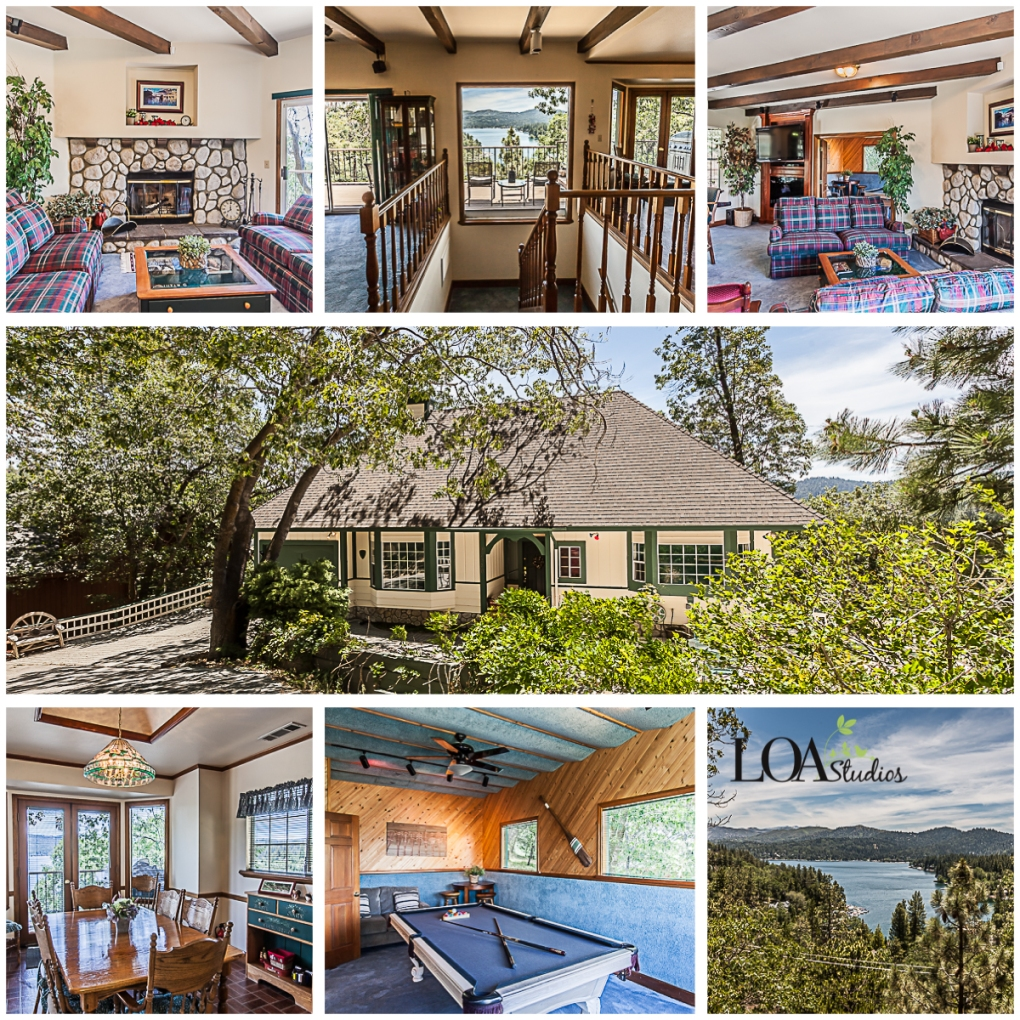 real estate photographer in lake arrowhead