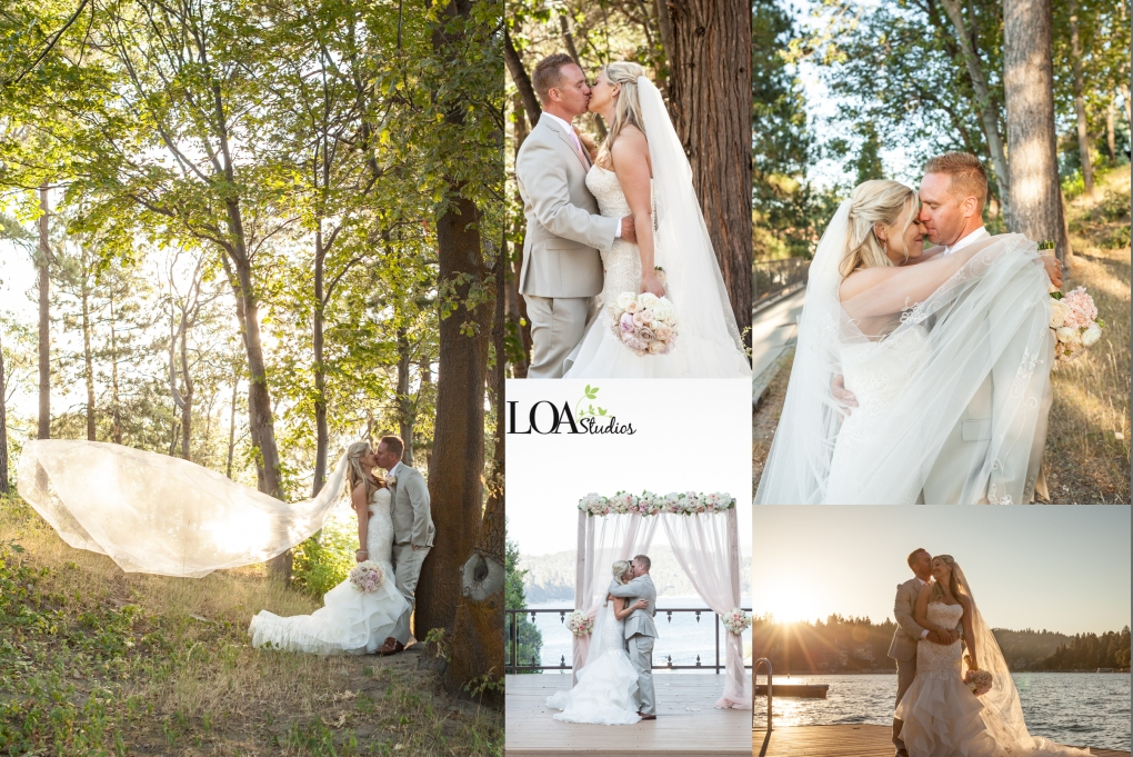 wedding at lake arrowhead resort photographer