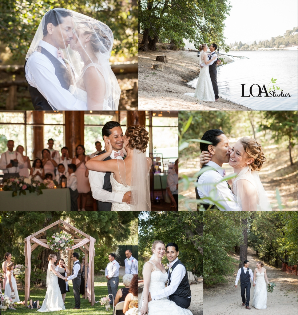wedding photographer in crestline