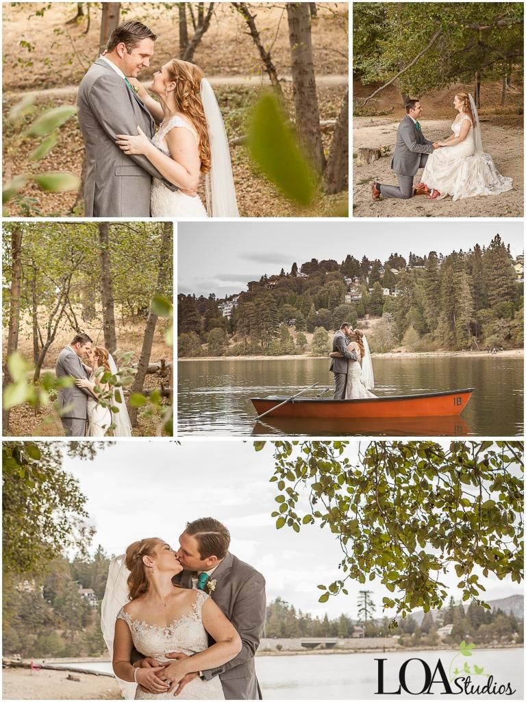 wedding photographer in lake arrowhead