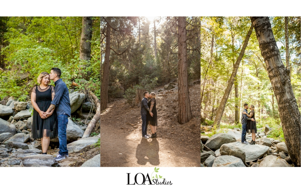 engagement pictures in lake arrowhead
