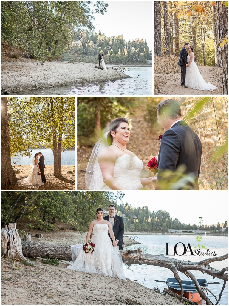 wedding photographers in lake arrowhead